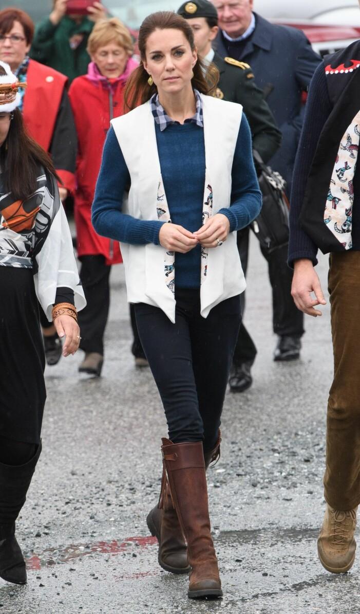 Kate Middleton ridstövlar