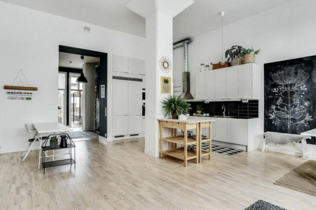 Katjas snygga lägenhet i Bonusfamiljen är till salu