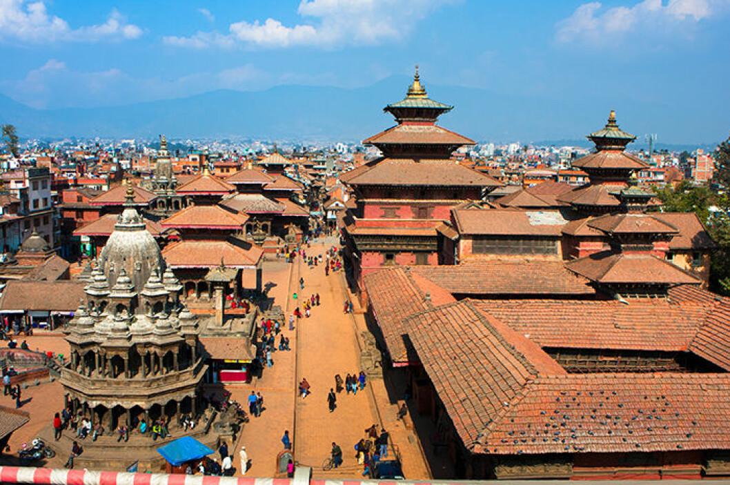 Katmnadu i Nepal