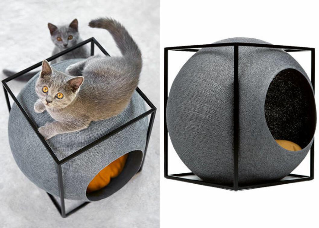 Meyou cube metal – stilren bädd för katter och hundar