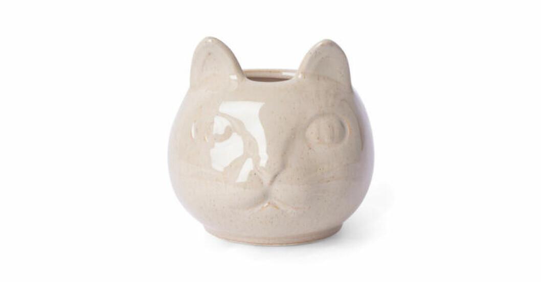 Kruka i form av kat från Åhléns