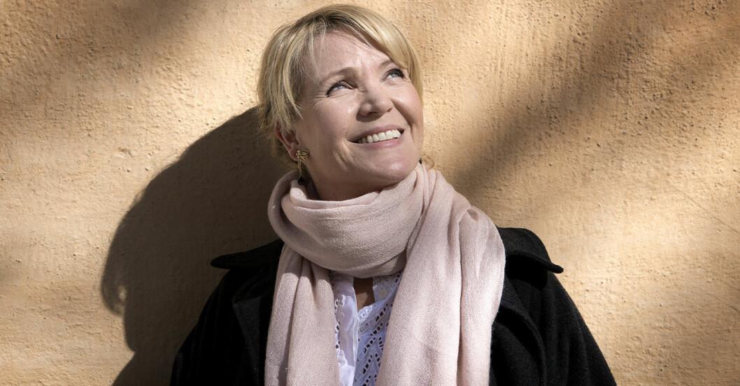 kattis ahlström vet att tv-branschen kommer vinka adjö till henne inom kort.