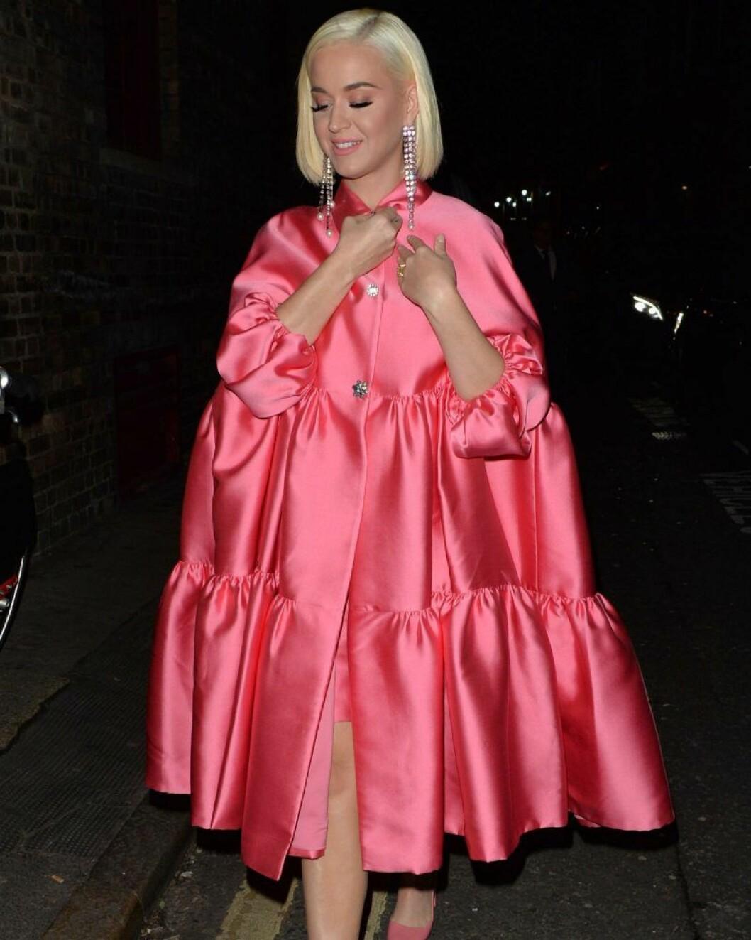 Katy Perry ute i London.