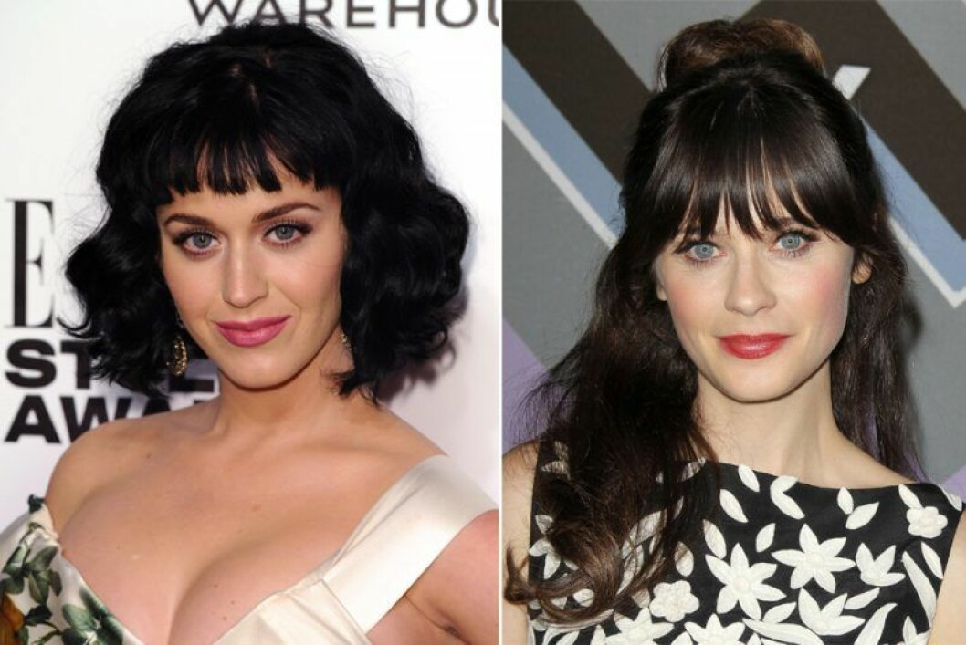 Katy Perry och Zooey Deschanel