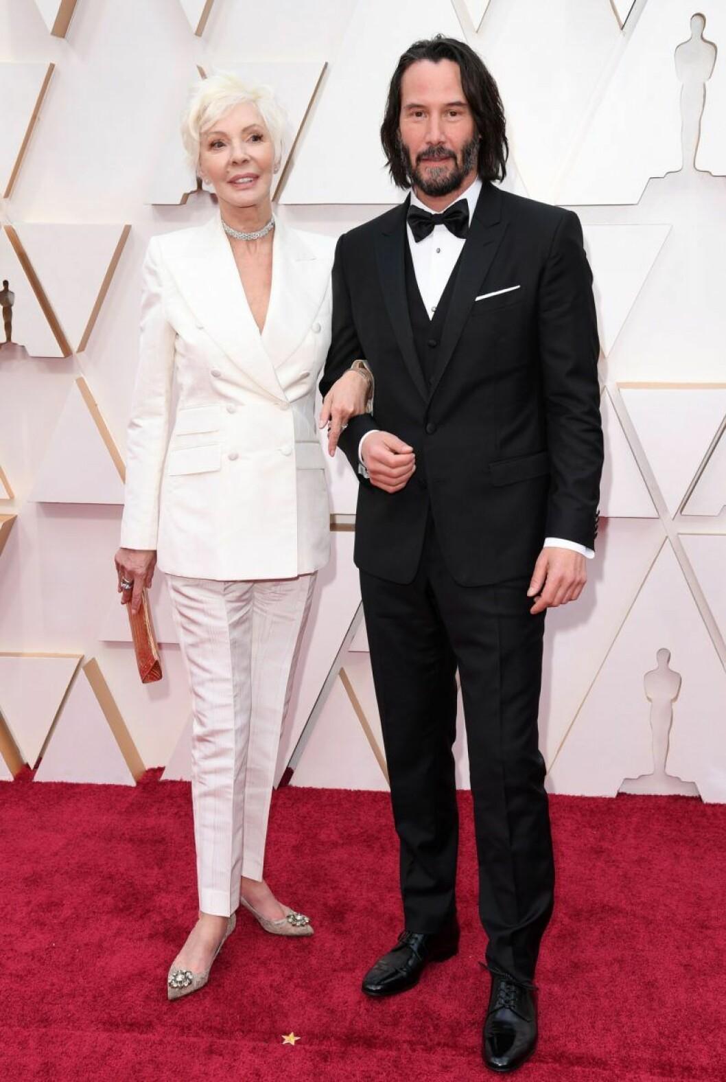 Keanu Reeves och Patricia Taylor
