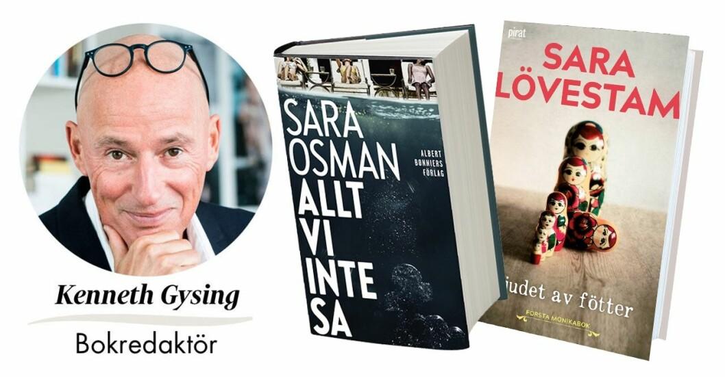 Feminas bokredaktör Kenneth Gysing tipsar om tre böcker som berör!