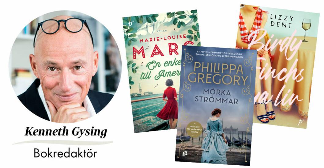 Kenneth Gysing, Feminas bokredaktör, ger dig veckan tre boktips.