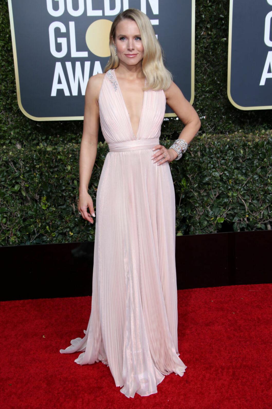 Kristen Bell Golden Globe 2019