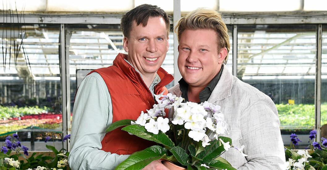 Det var kärlek vid första ögonkastet för Petter Kjellén och Karl Fredrik Gustafsson.