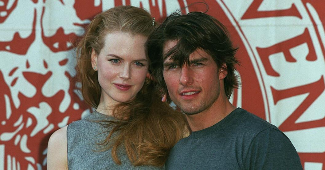Nicole Kidman och Tom Cruise gifte sig 1990.