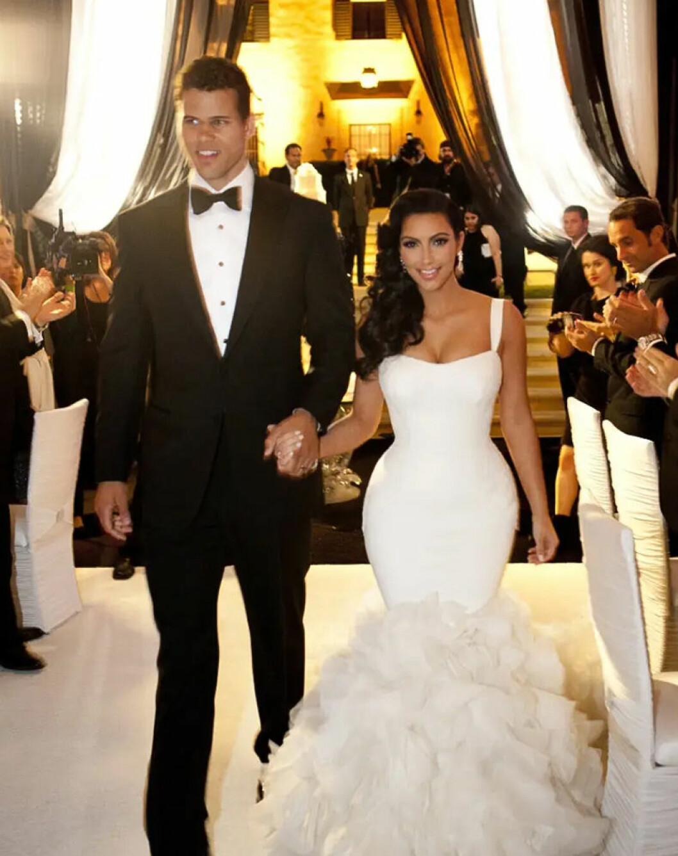 Kim K Kris bröllop