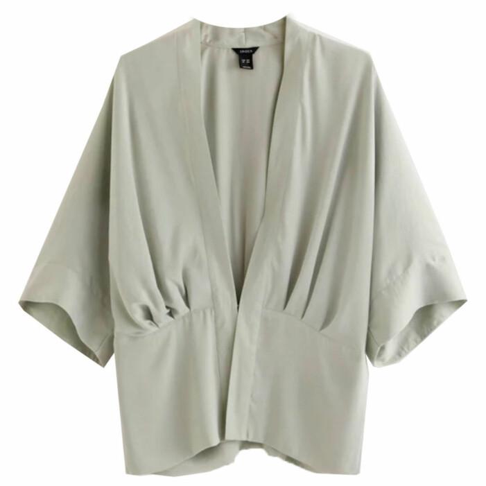 grön kimono från lindex