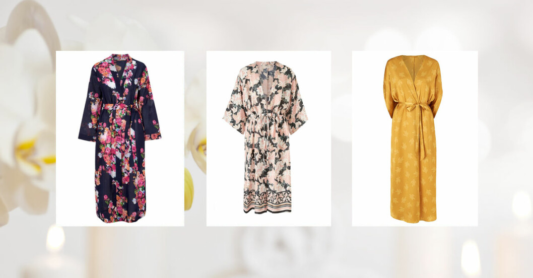 Kimono i butik
