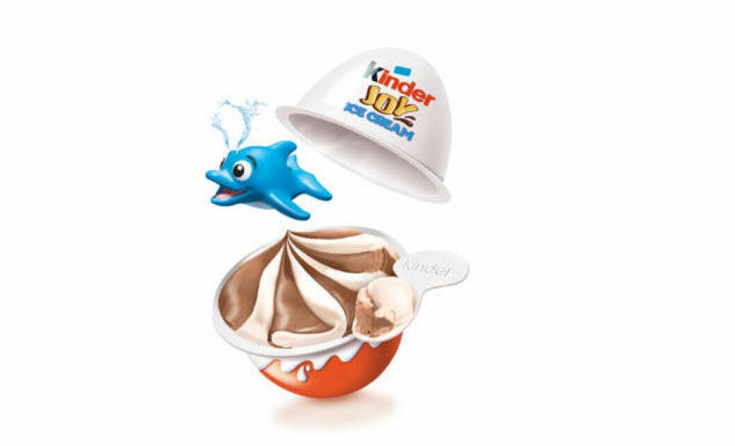 Kinderägg som glass! Kinder Joy Ice Cream