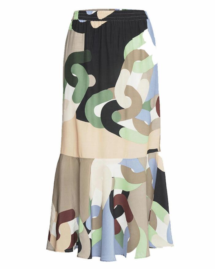 Mönstrad kjol