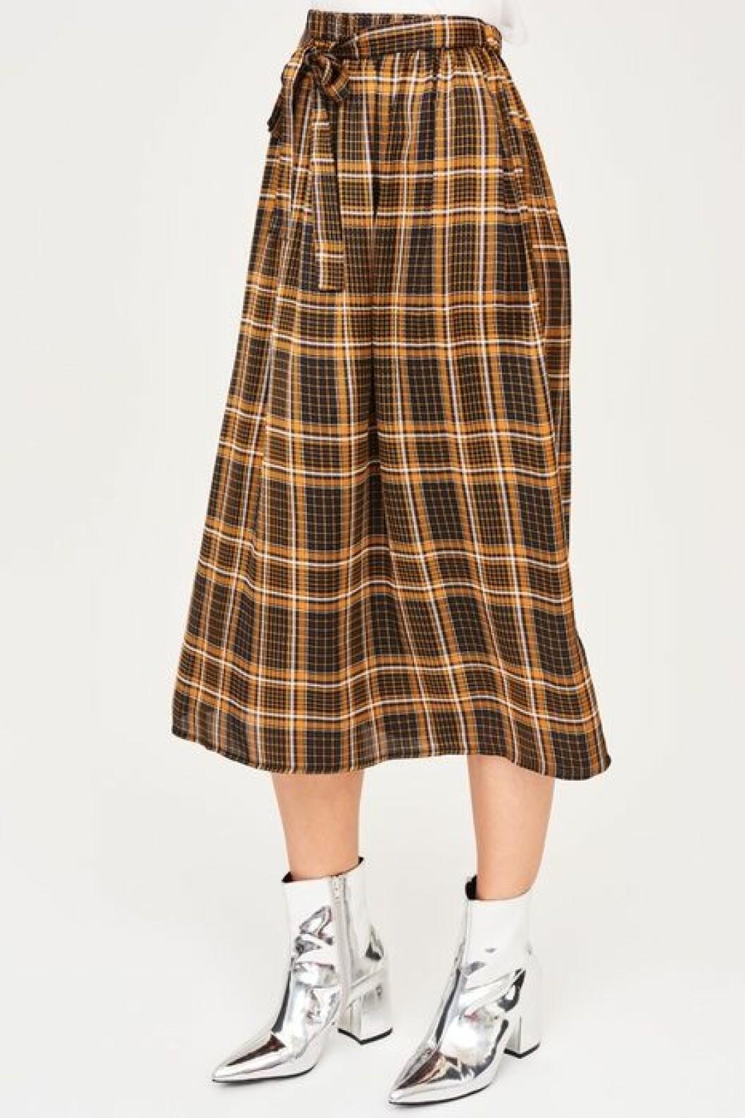 Rutig kjol Gina tricot
