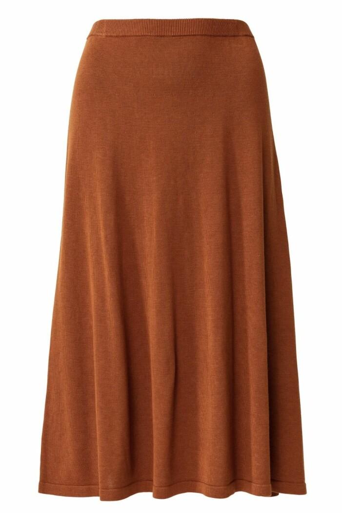 stickad kjol Indiska