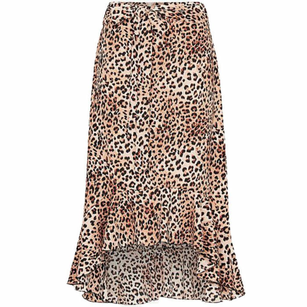 Midjekjol med leopardmönster