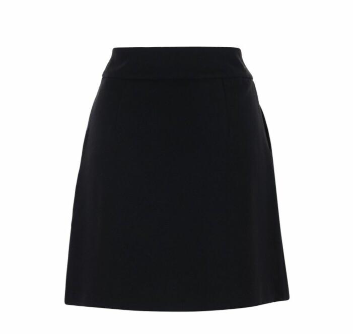 kort svart kjol Stylein