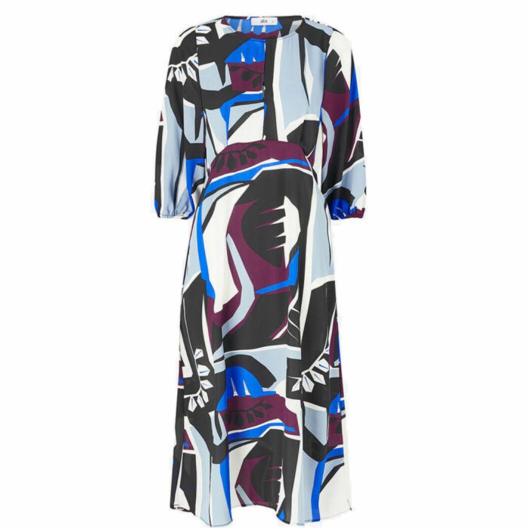Klänning med mönster