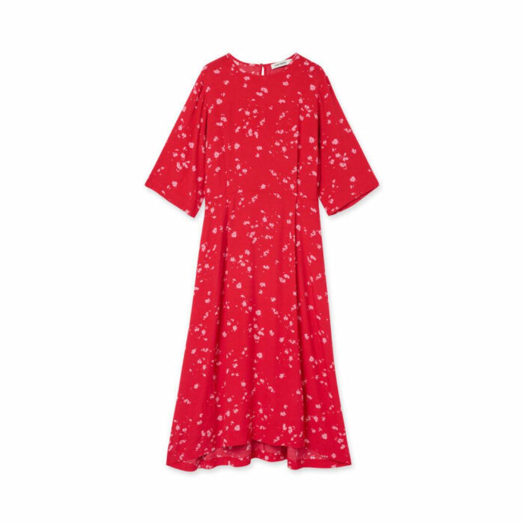 Carin Wester röd klänning
