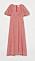 röd klänning från H&M