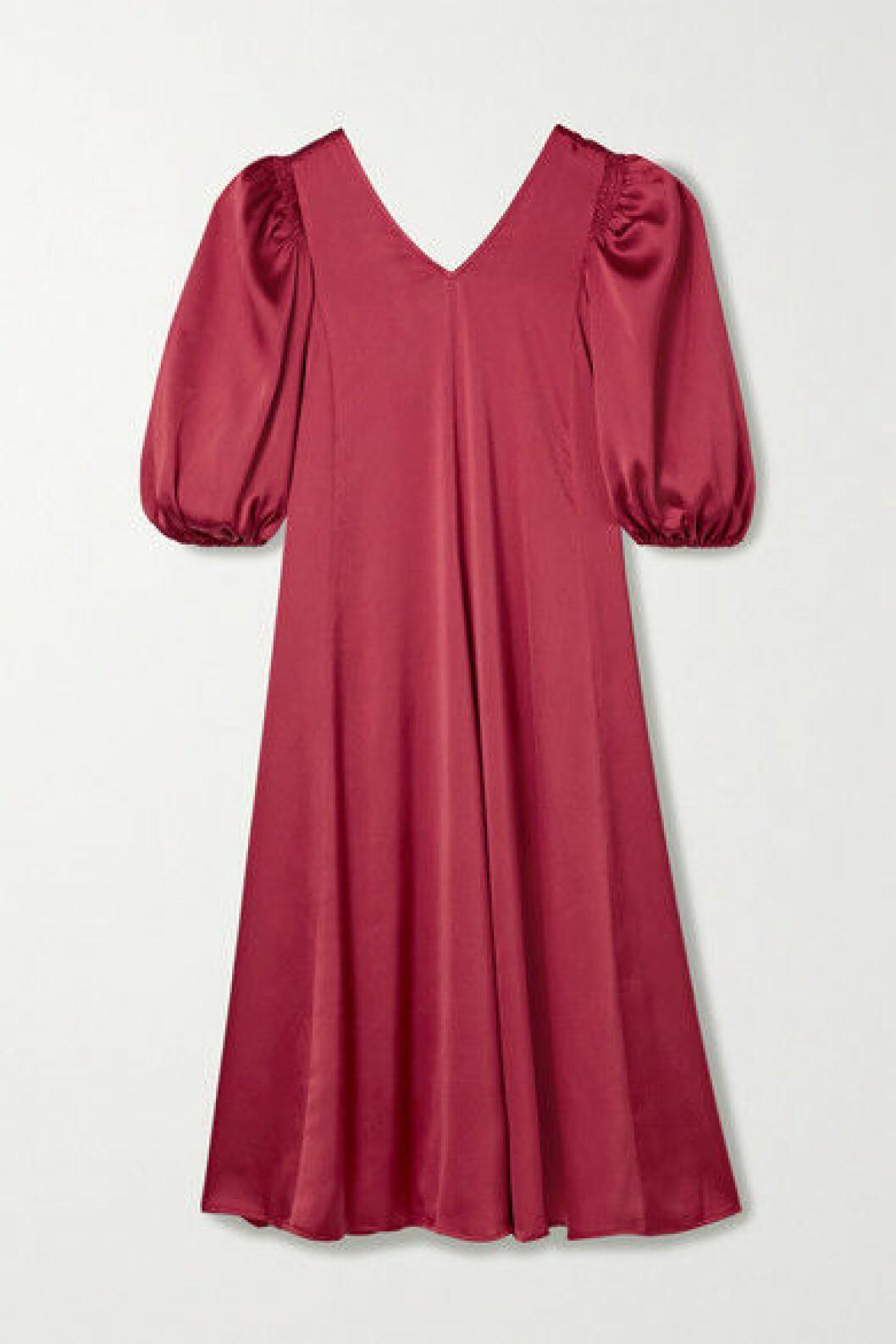 klänning med puffärm från Stine Goya