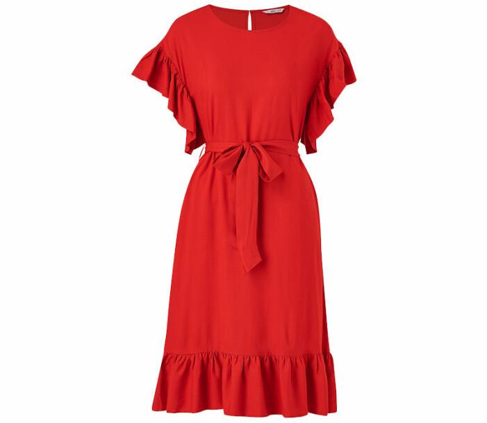 klänning volanger ellos collection