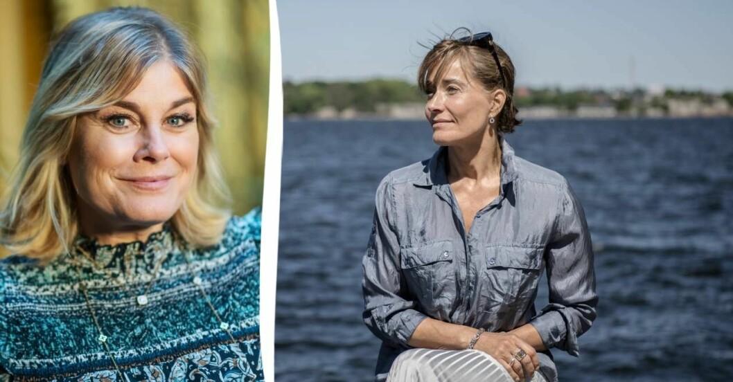 Pernilla Wahlgren, Agneta Sjödin.