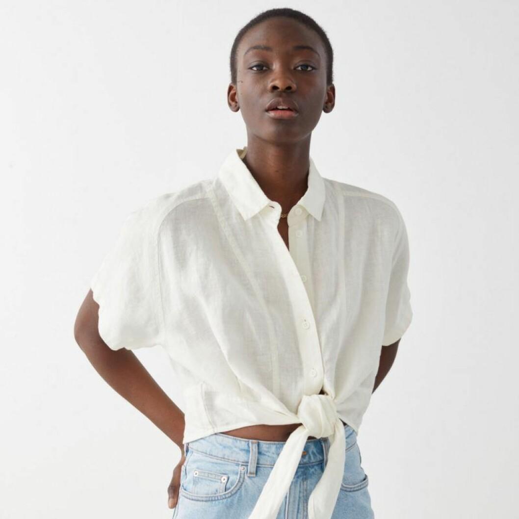 kort linneskjorta från & Other stories