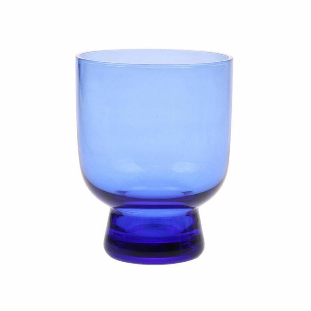 Koboltblått glas från HK Living