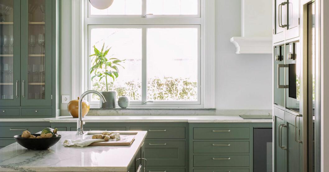 Bild på inspirerande kök