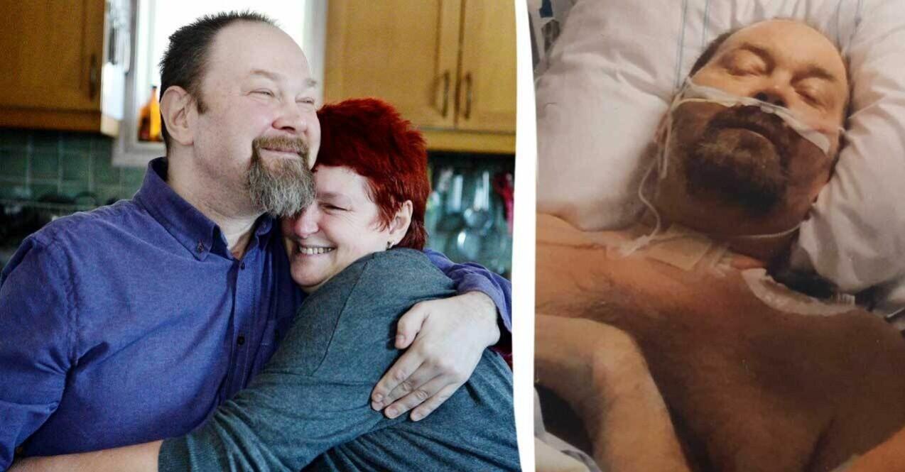 Jörgen Bloom från Nässjö blev sjuk i corona och sövdes i 75 dagar.