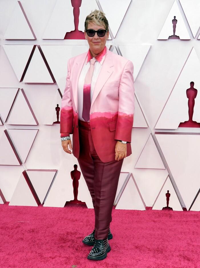 Kori Rae på röda mattan på Oscarsgalan 2021