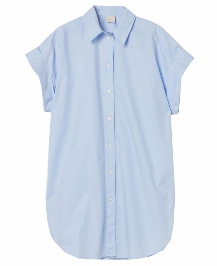 lång kortärmad skjorta dam