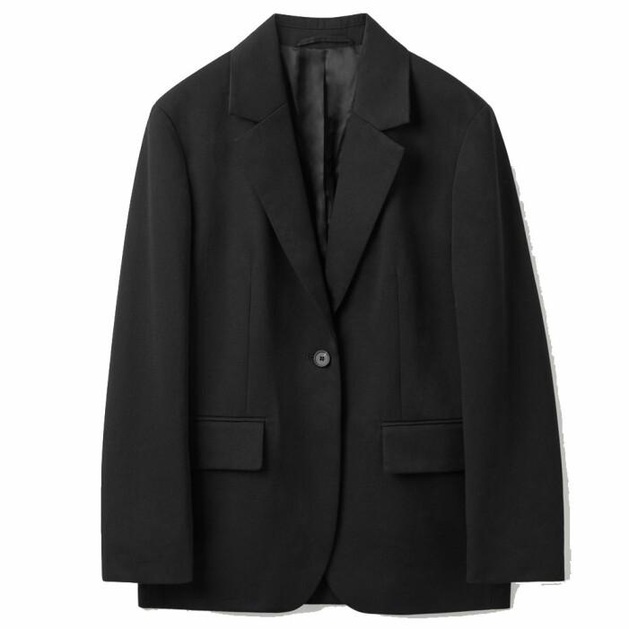 kostymset svart COS