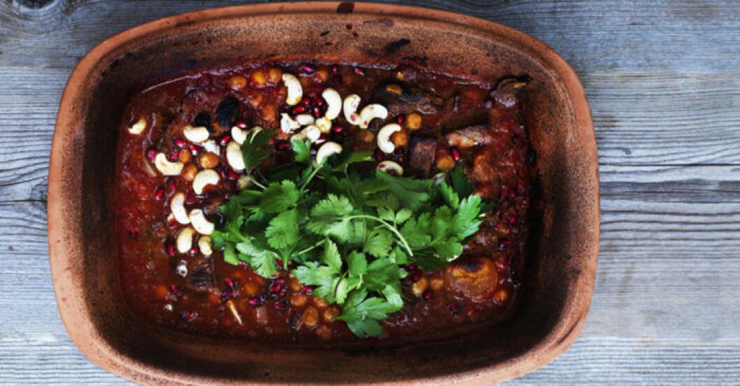 Marockansk köttgryta