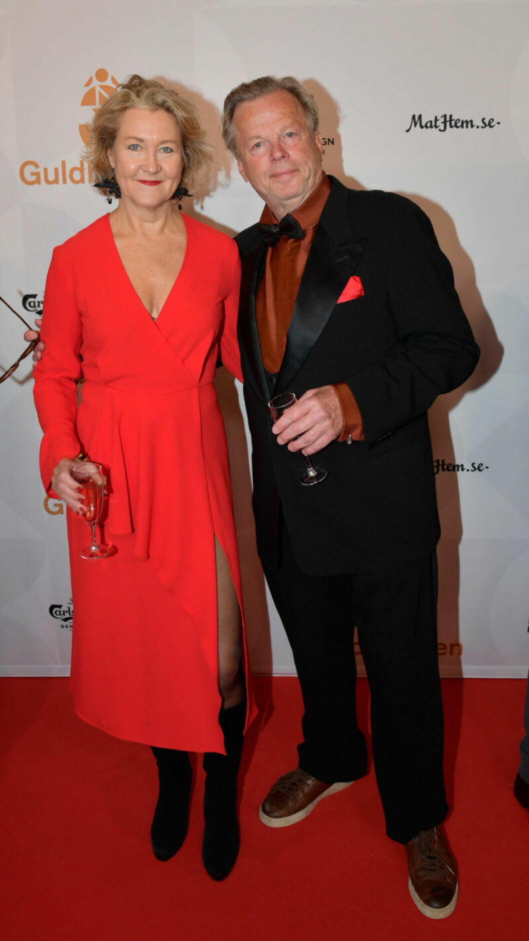 Röda mattan, Cecilia Nilsson och Krister Henriksson