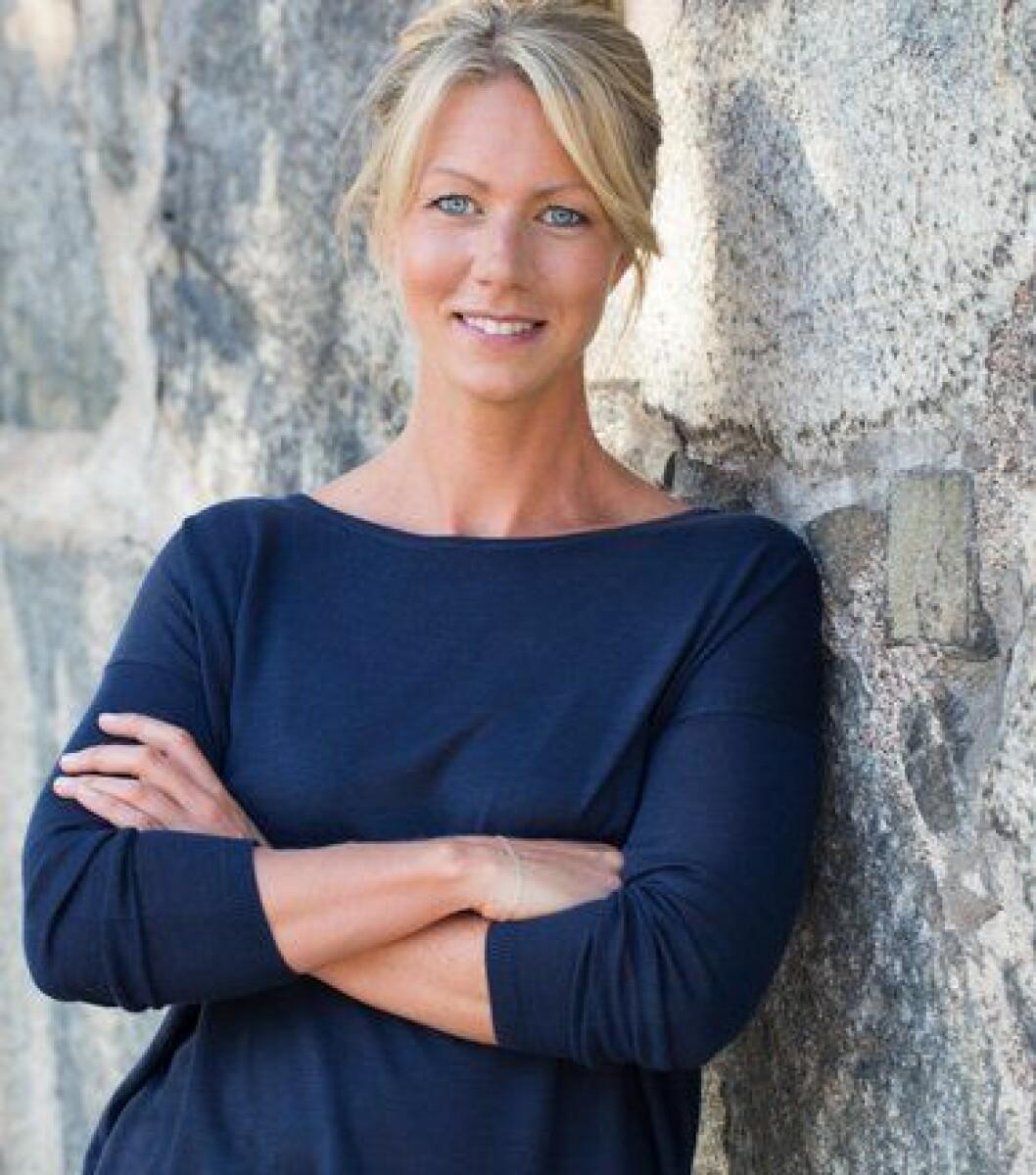 Kristina Andersson, näringsfysiolog som har skrivit en bok om hur man ska äta för att hjärnan ska må bra.
