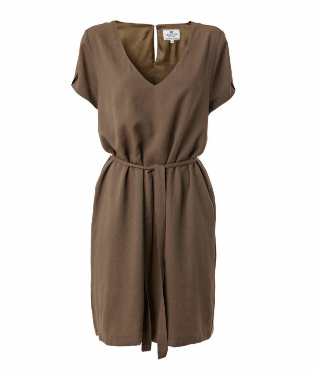 KRISTINA SOLID DRESS GREEN