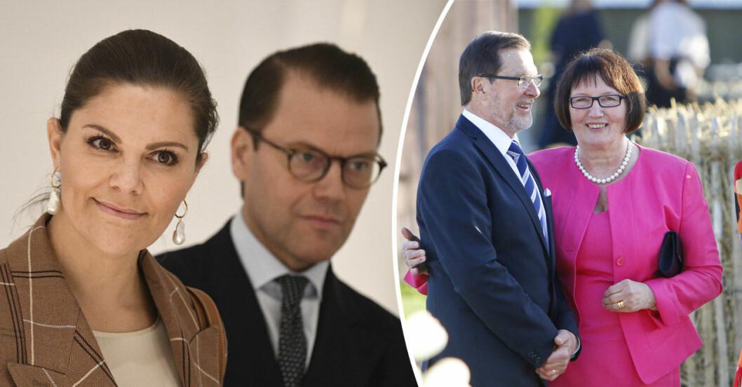Kronprinsessan Victoria, Daniel Westling och Ewa Westling