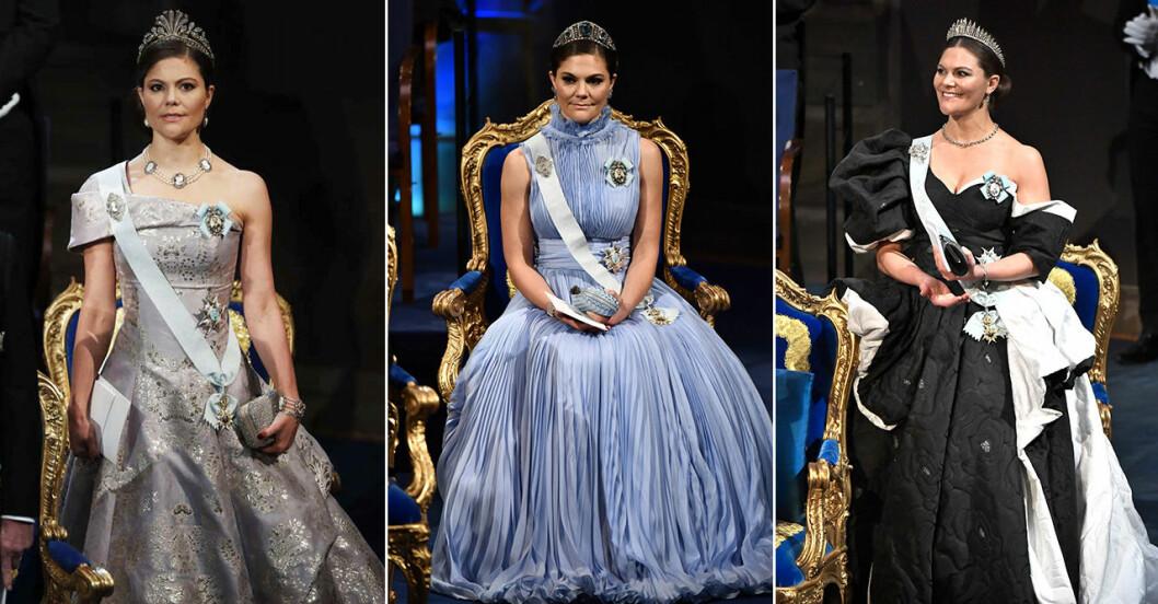 Victoria på Nobel 2016, 2017 och 2019