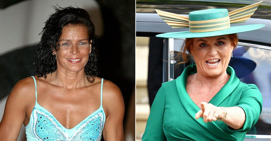Stephanie av Monaco och Fergie