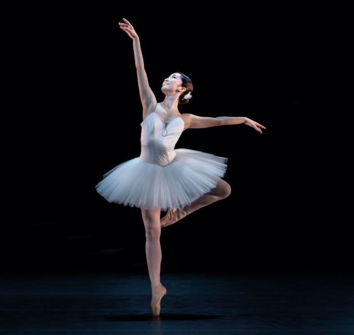 Kungliga balettens premiärdansare Haruka Sassa.