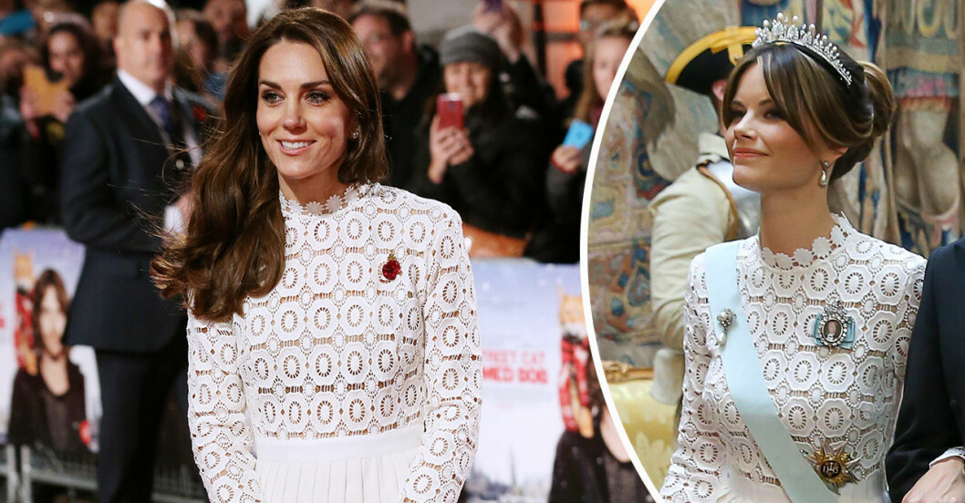 Kate Middleton och Prinsessan Sofia