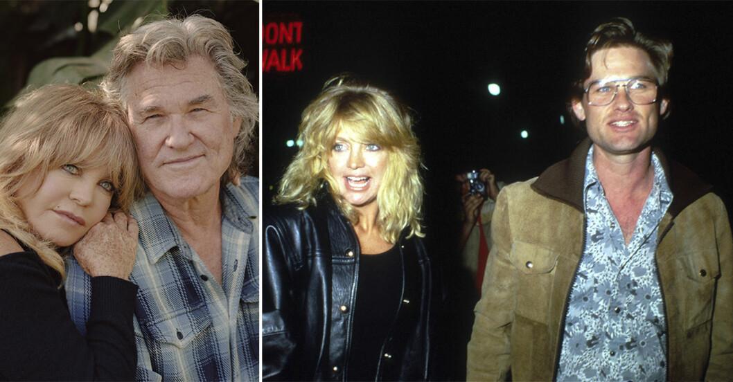 Goldie Hawn och Kurt Russell.