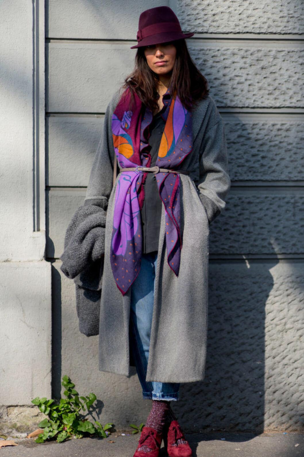 Bilden är för inspiration och togs i samband med höstens modevisningar. Foto Jonas Gustavsson