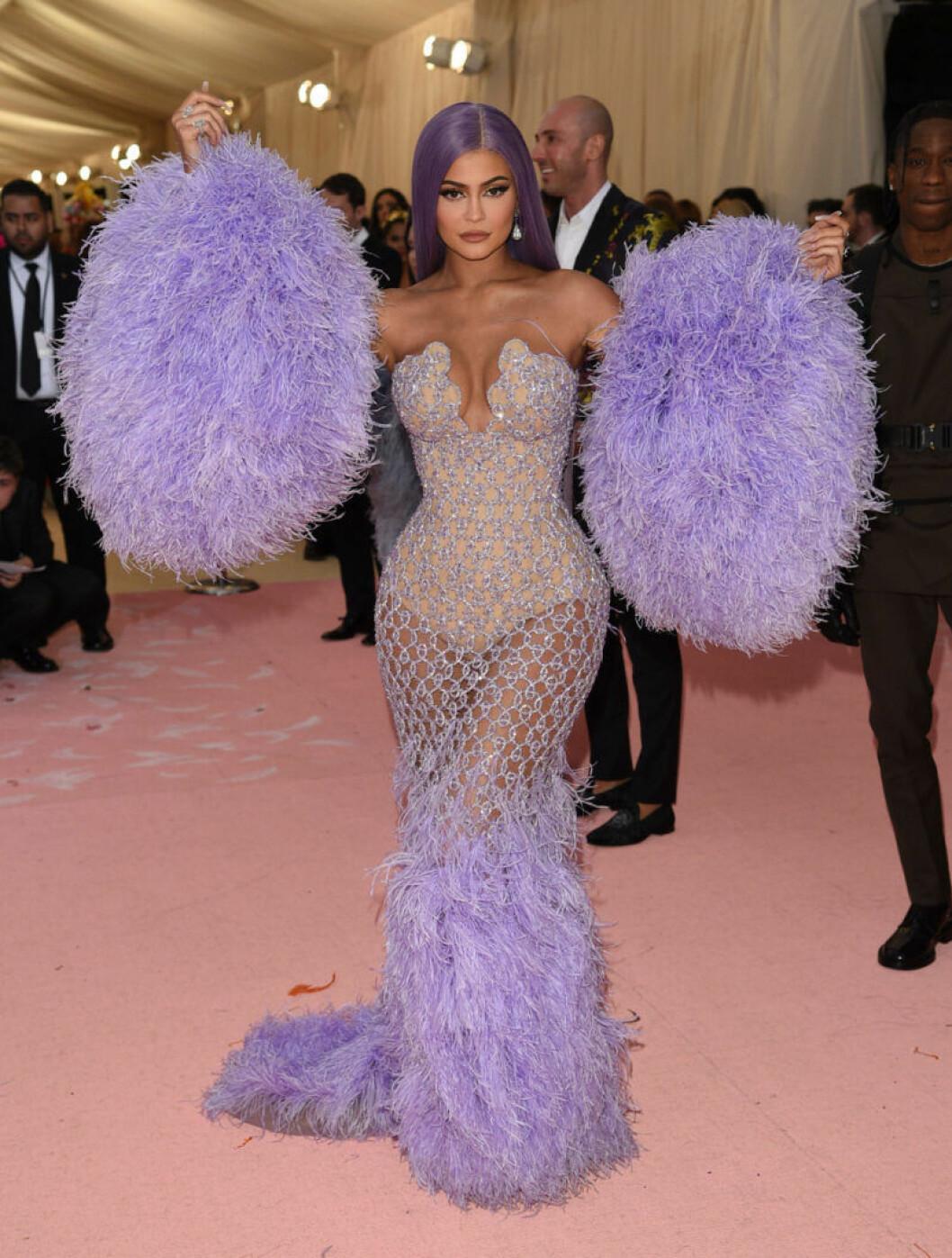 Kylie Jenner på röda mattan