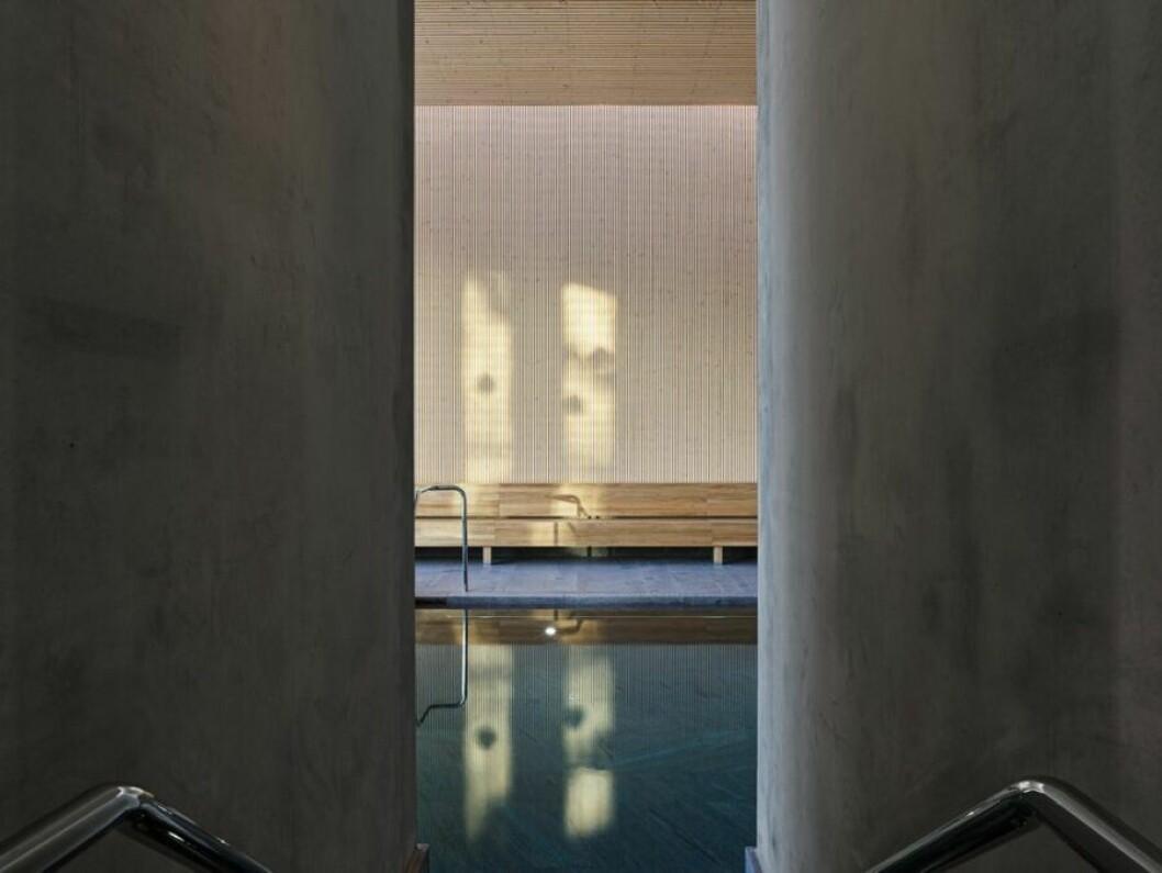 Vacker arkitektur av Johan Sundberg på Andrum, nytt spa i Höör.