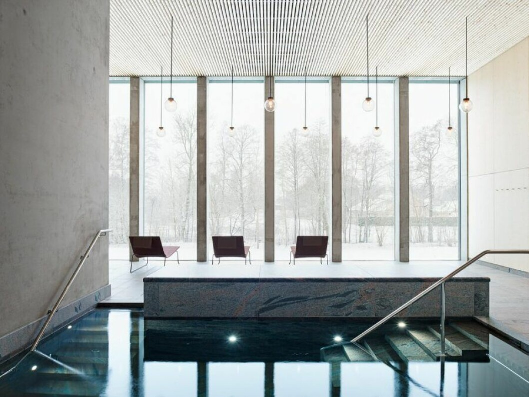 Vacker arkitektur av Johan Sundberg på Andrum,